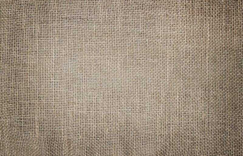 Textura del saco del yute imagen de archivo