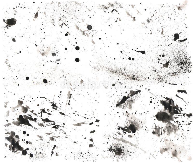 Textura 2 del salpicón Alto-Res foto de archivo libre de regalías
