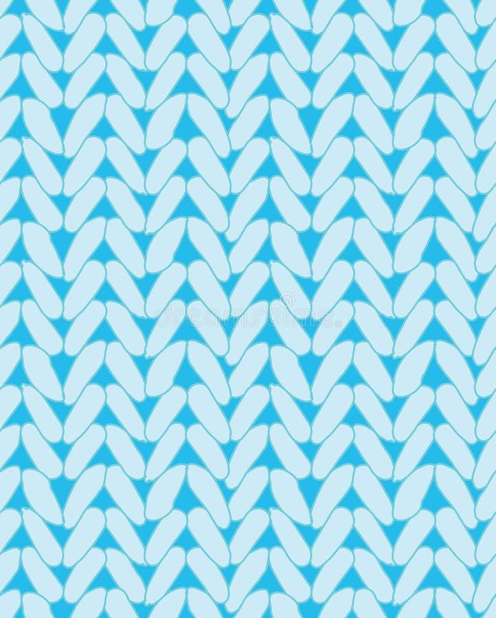 Textura del suéter que hace punto Diseño para la tela libre illustration