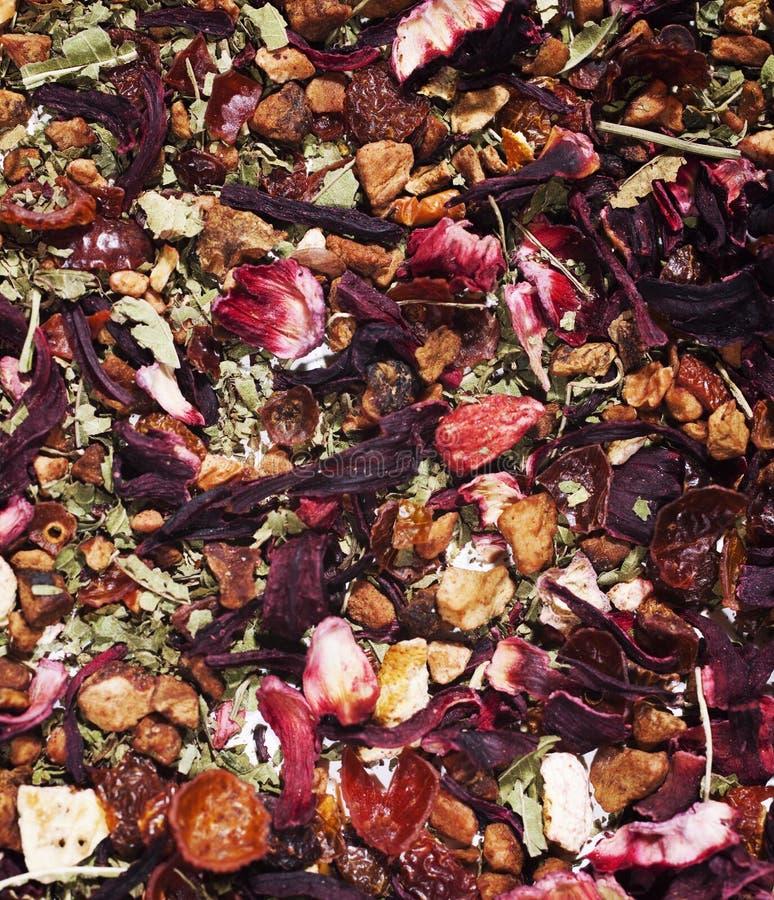 Textura del té herbario fotos de archivo libres de regalías