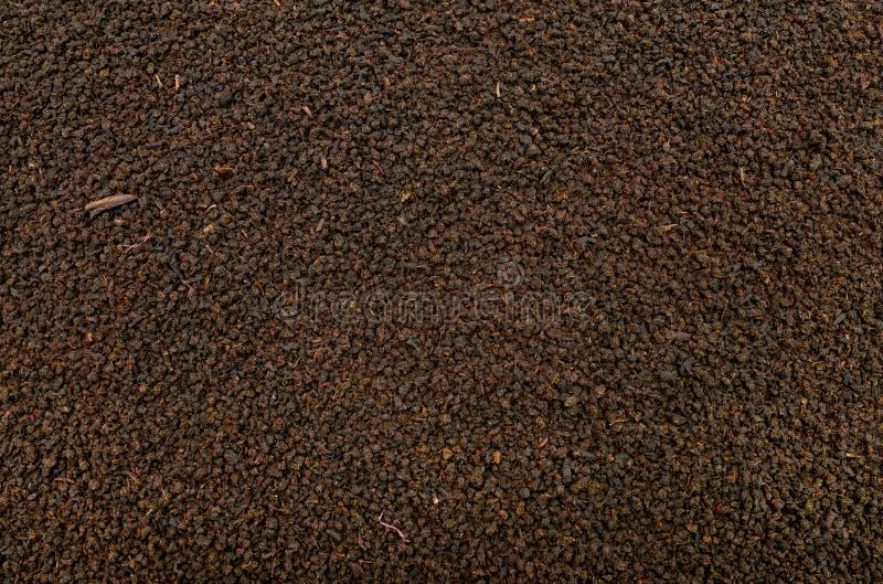 Textura del té negro imagenes de archivo