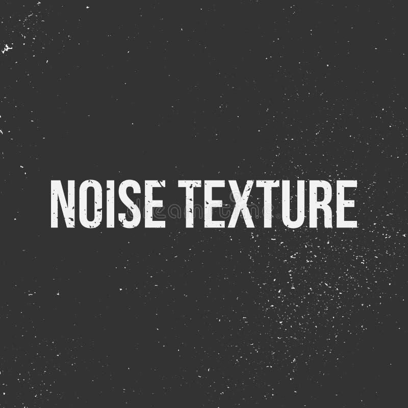 Textura del vector del ruido ilustración del vector