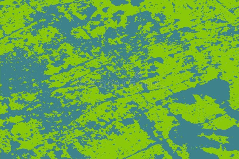Textura del verde de la desolaci?n stock de ilustración