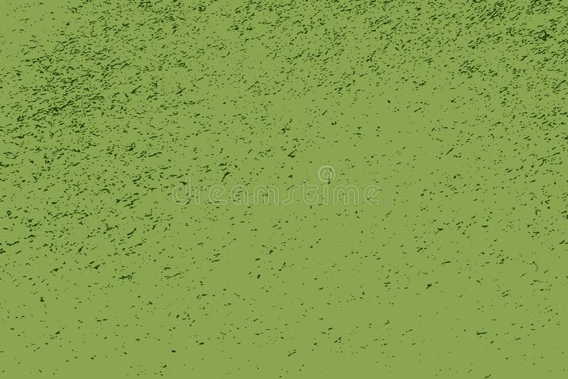 Textura del verde de la desolaci?n ilustración del vector