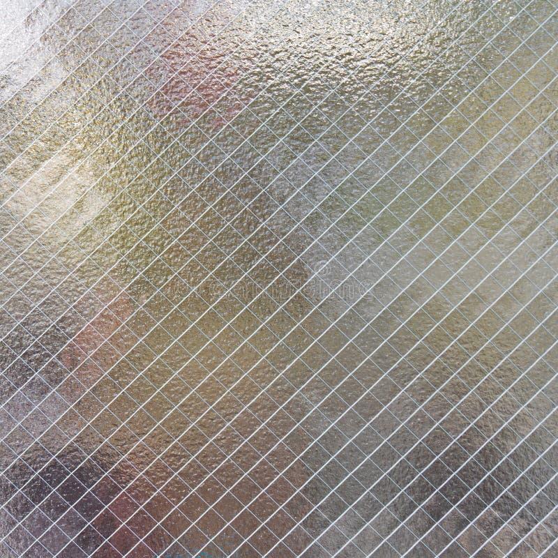 Textura del vidrio helado foto de archivo libre de regalías
