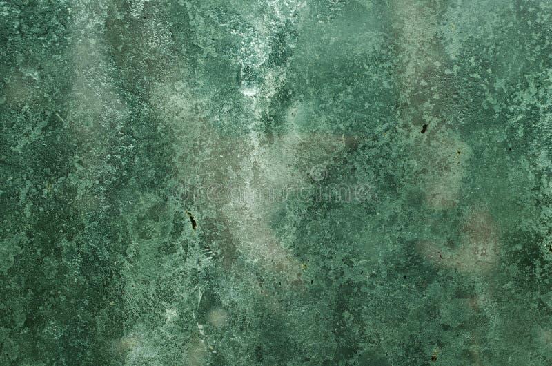 Textura del vidrio verde foto de archivo libre de regalías