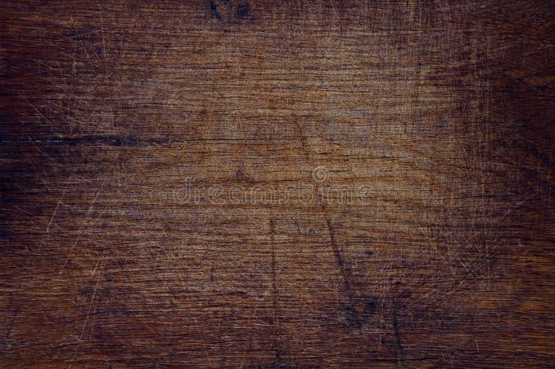 Textura del viejo fondo oscuro de madera foto de archivo libre de regalías