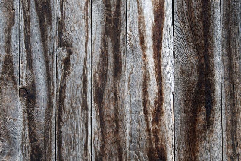 Textura del viejo marrón resistido y de los tableros de madera grises b fotografía de archivo