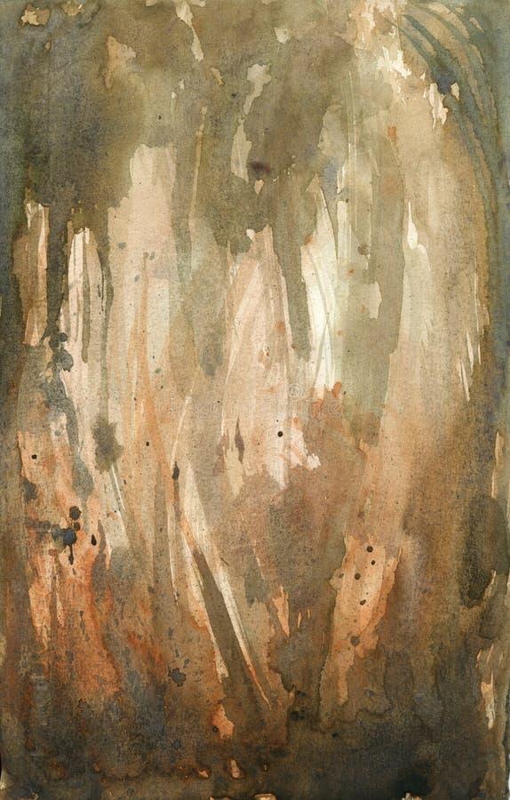 Textura del Watercolour foto de archivo libre de regalías