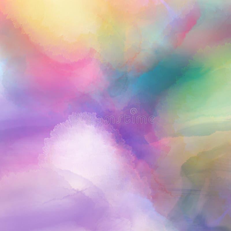 Textura del Watercolour stock de ilustración