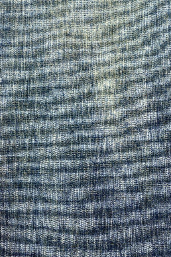 Textura desvanecida da tela da sarja de Nimes fotografia de stock