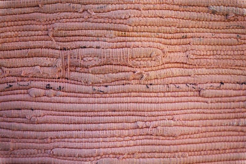 Textura detalhada alta de matéria têxtil como o fundo, a superfície da tela para a site ou dispositivos móveis fotos de stock royalty free
