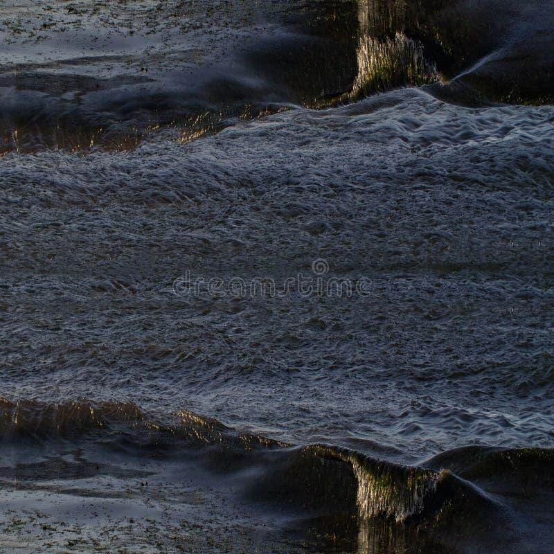 Textura detallada abstracta del agua duplicada imagenes de archivo