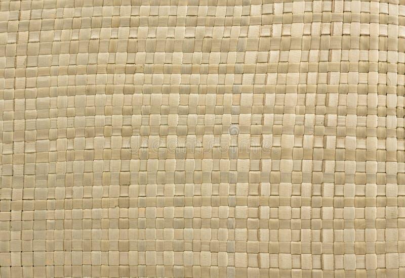 Textura die - van stro weeft royalty-vrije stock afbeelding