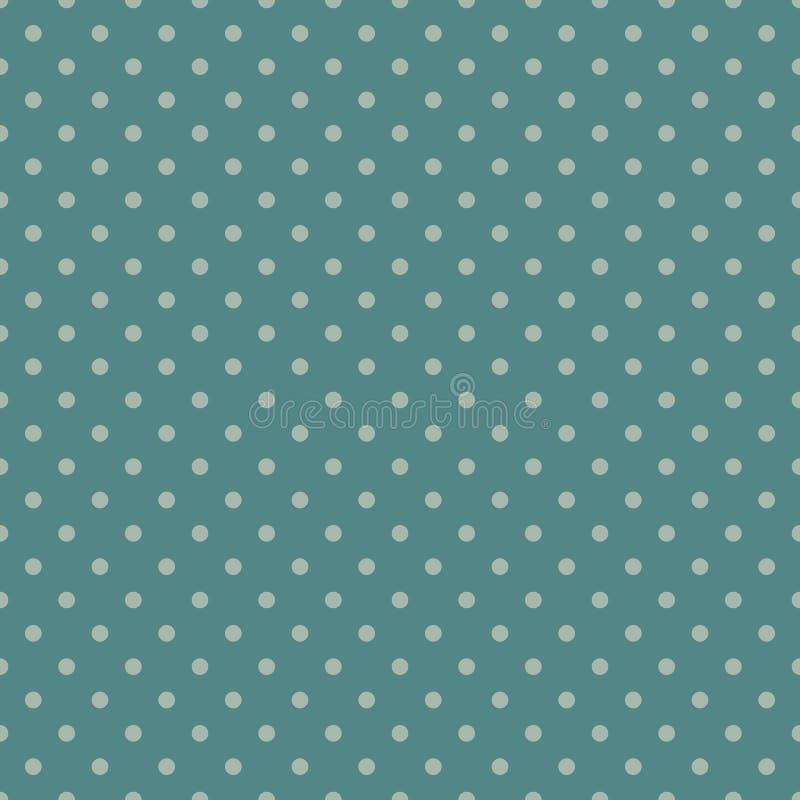 textura do às bolinhas Teste padrão de superfície sem emenda com o ornamento geométrico clássico Motivo repetido dos círculos Fun ilustração stock
