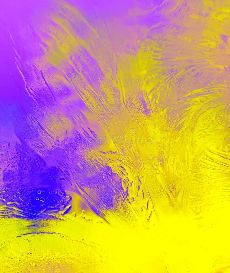 Textura do óleo foto de stock
