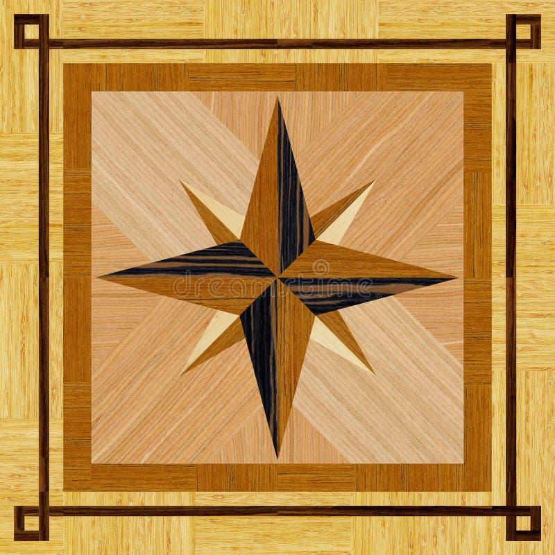 Textura do assoalho de madeira imagens de stock royalty free