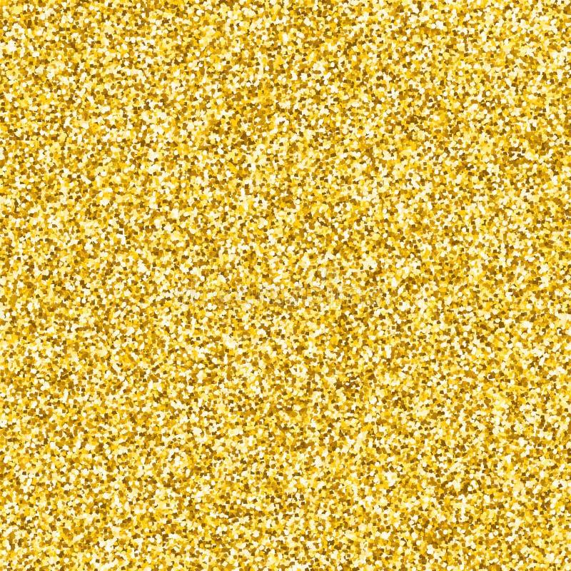 Textura do brilho do ouro ilustração do vetor