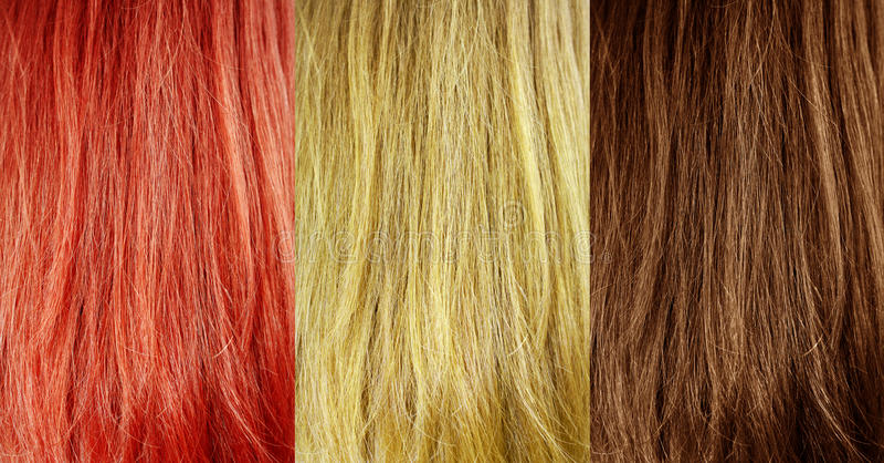 Textura do cabelo imagens de stock royalty free