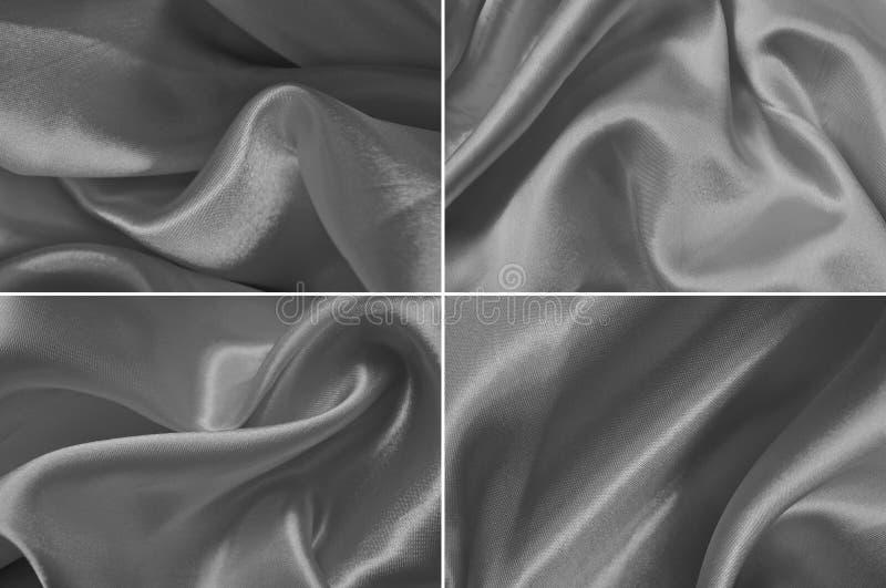 Textura do cetim fotos de stock royalty free