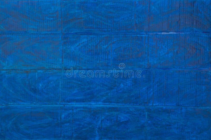 Textura do close up de madeira azul do fundo Vista superior imagens de stock