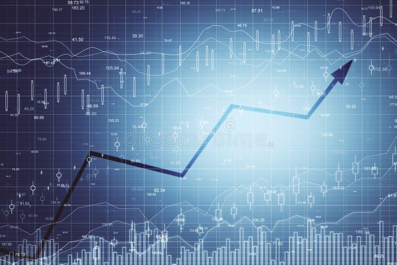 Textura do com?rcio e da finan?a ilustração stock