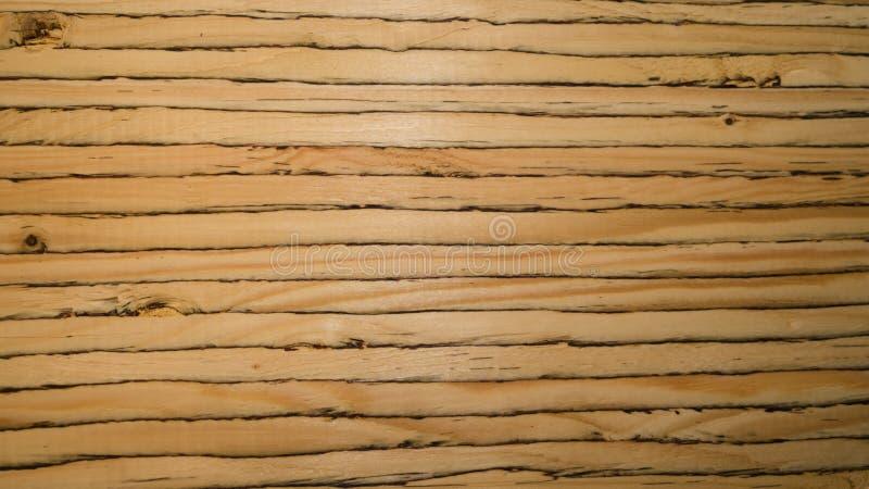 Textura do corte da madeira serrada laminada do folheado fotos de stock royalty free