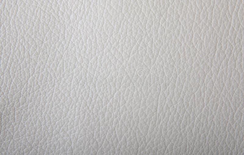 Textura do couro branco fotos de stock