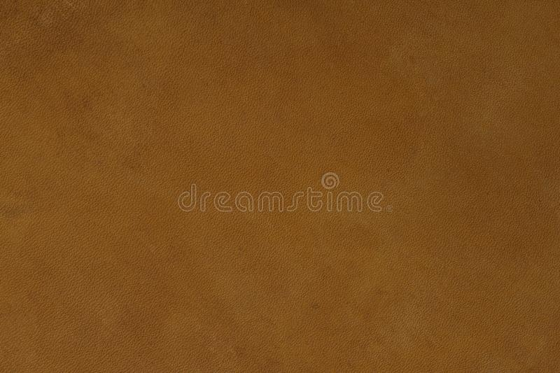 Textura do couro de Brown no macro imagens de stock royalty free