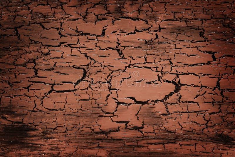 Textura do crackle de Brown fotos de stock royalty free