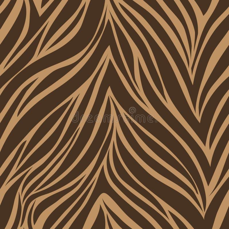 Textura do ? da pele do tigre ilustração stock