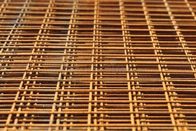 Textura do engranzamento de fio da construção fotos de stock royalty free
