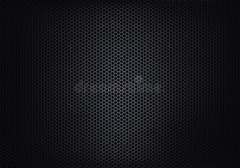 Textura do engranzamento metálico ilustração do vetor