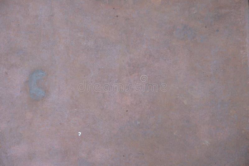 Textura do fim oxidado do aço do metal acima foto de stock royalty free