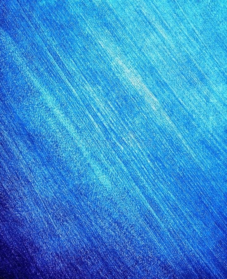 Textura Do Fundo Azul Da Pintura Imagem de Stock Royalty Free