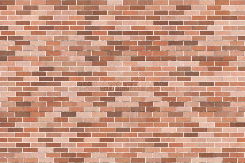 Textura do fundo com a parede de tijolo marrom ilustração royalty free