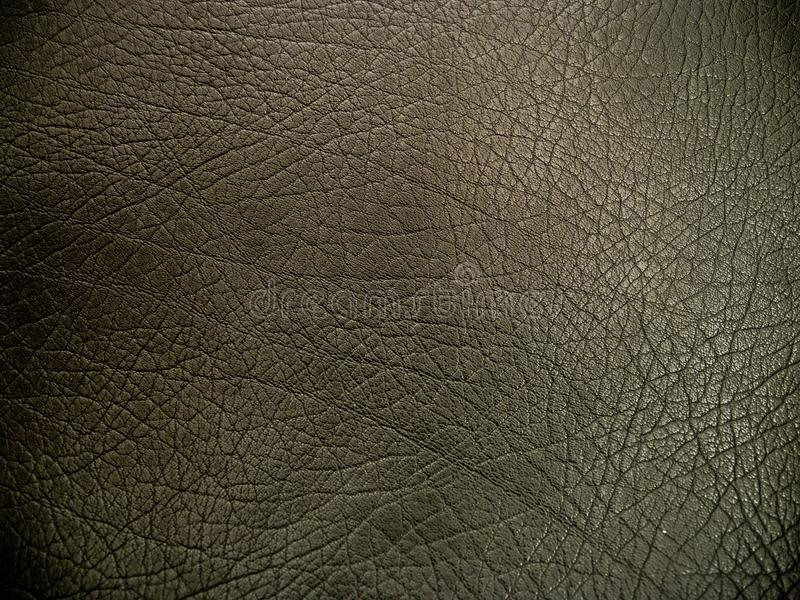 Textura do fundo do couro do preto escuro foto de stock royalty free