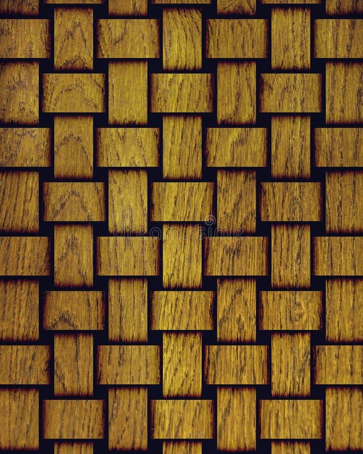 Textura do fundo da árvore, sob a forma das faixas tecidas fotos de stock royalty free