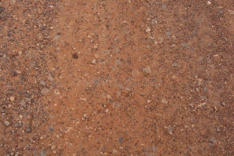 Textura do fundo da estrada de terra fotos de stock royalty free