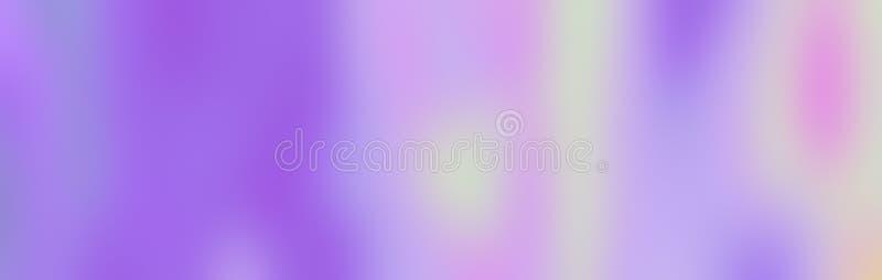 Textura do fundo da folha do holograma como o arco-íris, luz roxa ilustração royalty free
