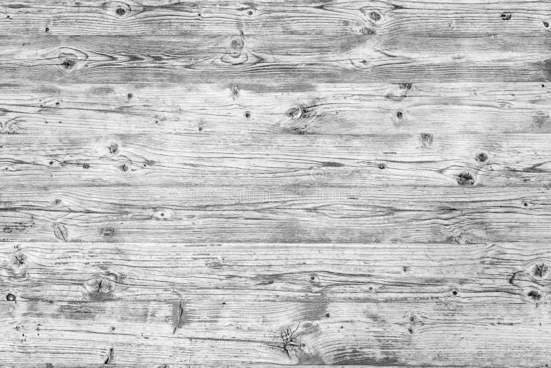 Textura do fundo da parede de madeira branca velha imagens de stock royalty free