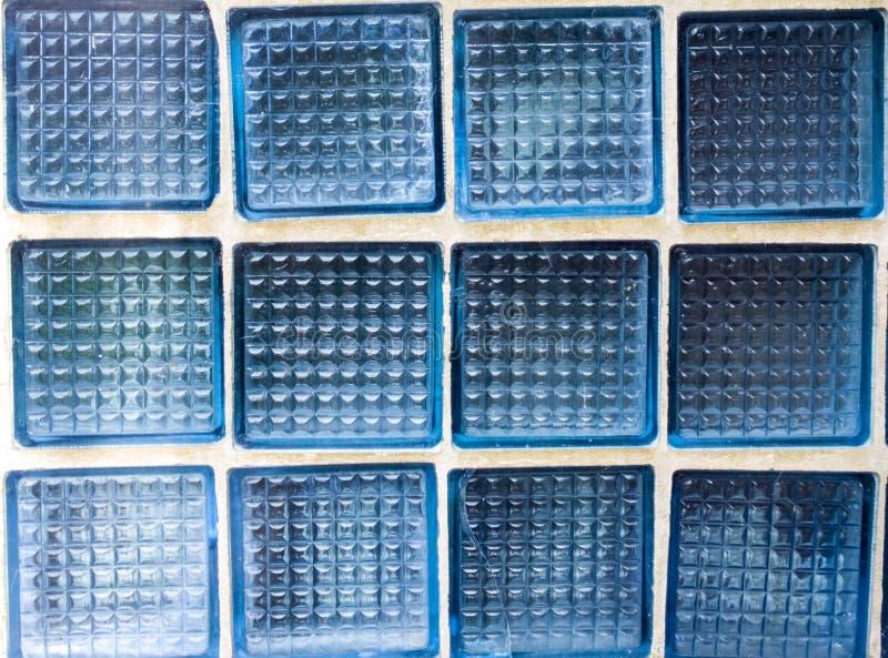 Textura do fundo da parede de tijolo de vidro Fundo industrial foto de stock