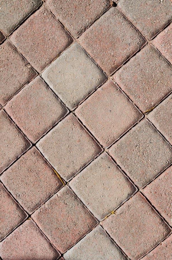 Textura do fundo da passagem do tijolo foto de stock