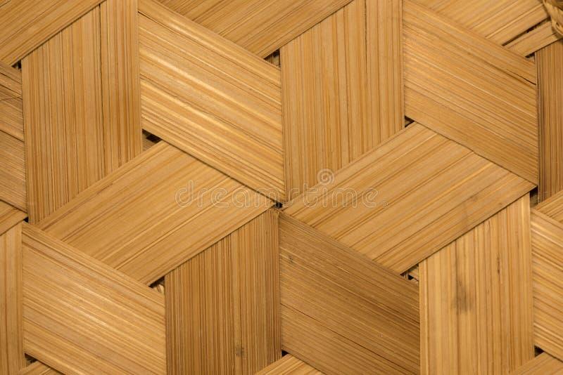 Textura do fundo de bambu da parede fotografia de stock