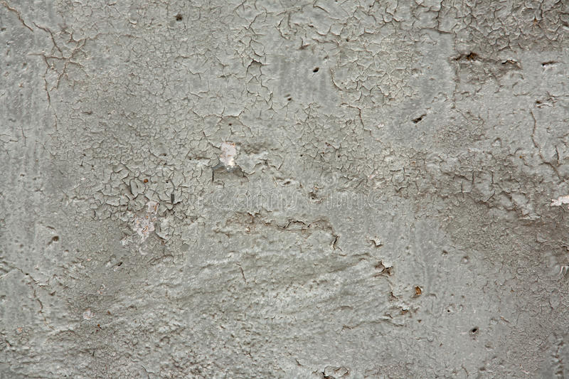 Textura do fundo do Grunge de Gray Chipped Paint Concrete Wall foto de stock royalty free