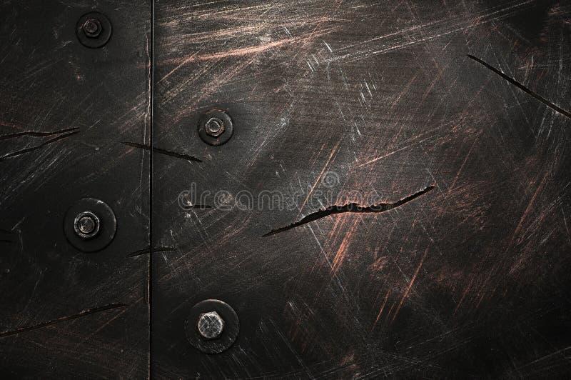 Textura do fundo do metal fotografia de stock