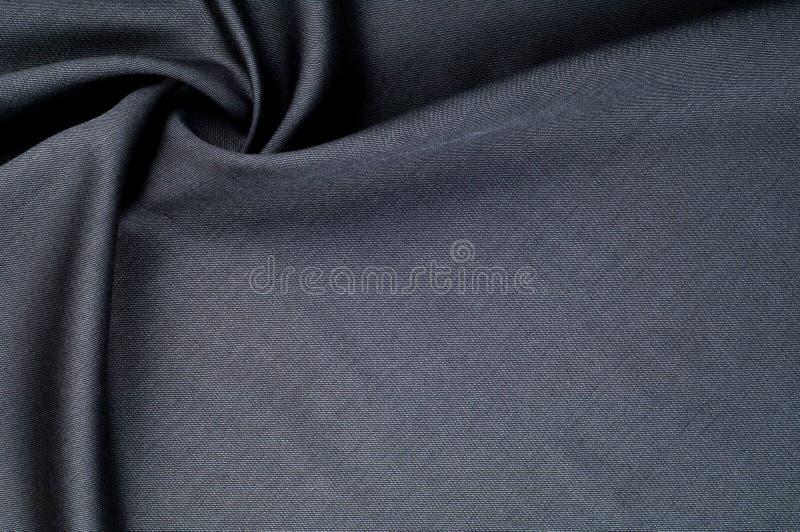 Textura do fundo, teste padrão cinza do terno de lãs de pano Um fla genuíno fotografia de stock royalty free