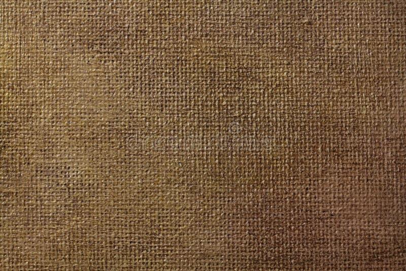 Textura do fundo do vintage da lona pintada com verniz betuminoso ilustração stock