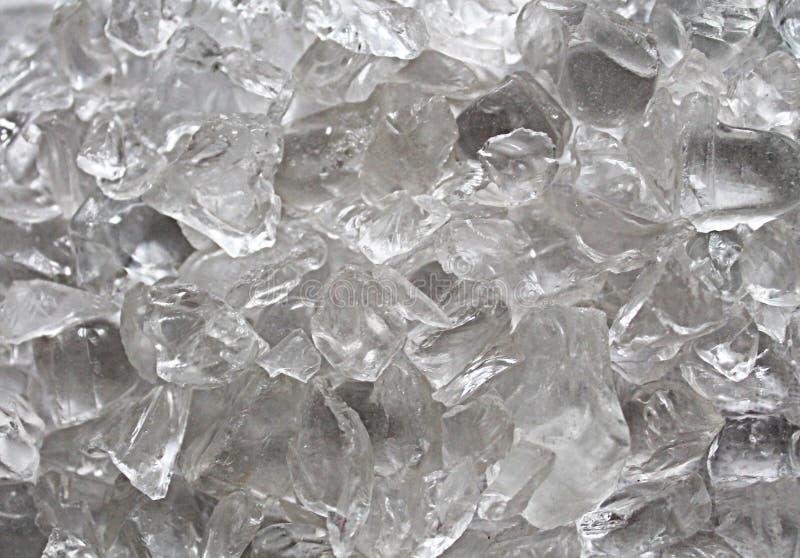 Textura do gelo e do vidro foto de stock royalty free