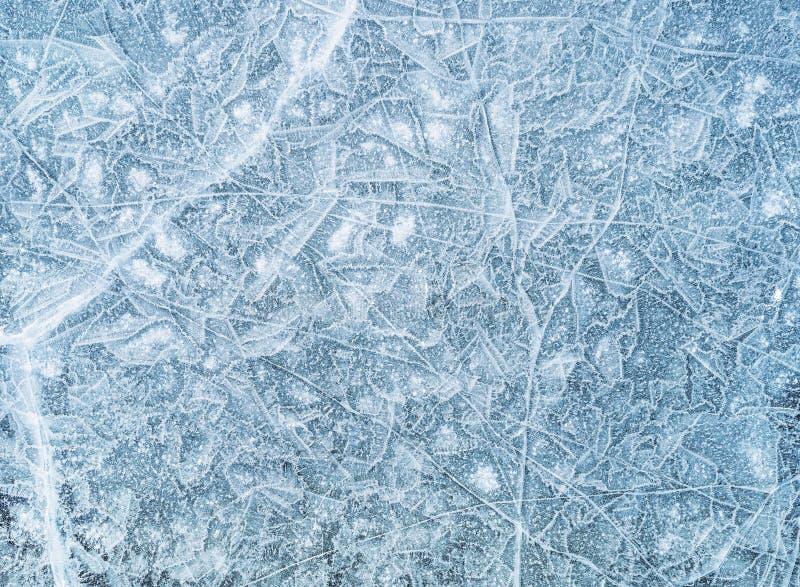 Textura do gelo, fundo imagens de stock royalty free